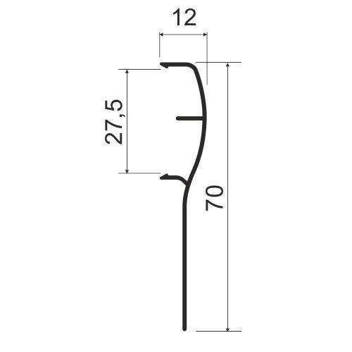 Накладка для подвесной системы MS181